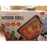 | 3X | ELECTRIC INDOOR GRILL | UNCHECKED AND BOXE | NO ONLINE RESALE | SKU - | RRP £- | TOTAL LOT