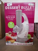 | 2X | DESSERT BULLET BY NUTRIBULLET | UNCHECKED AND BOXED | NO ONLINE RE-SALE | SKU
