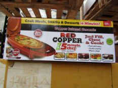 | 20X | RED COPPER CHEF ELECTRIC MEAL MAKERS | UNCHECKED AND BOXED | NO ONLINE RESALE | SKU