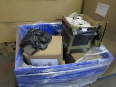 | 1X | PALLET OF APPROX UNMANIFESTED ELECTRICAL ITEMS, ALL RAW CUSTOMER RETURNS SOME MAY BE LOOSE