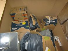 | 1X | PALLET OF APPROX 10 VARIOUS SIZED YAWN AIR BEDS| UNCHECKED AND BOXED | NO ONLINE RESALE |