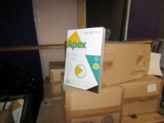 Pallet of approx 200 packs of 100 A4 Apex Binding covers, new