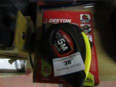 Dekton - Tape Measure (5 Metre) - New with Tags.