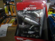 Dekton - Clip-On Light (Ultra Bright White LED) - New & Packaged.