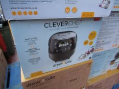| 4X | DREW AND COLE CLEVER CHEF | BOXED AND REFURBISHED | NO ONLINE RESALE | SKU - | RRP £69.99 |