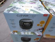 | 1X | DREW AND COLE CLEVER CHEF | BOXED AND REFURBISHED | NO ONLINE RESALE | SKU - | RRP £69.99 |