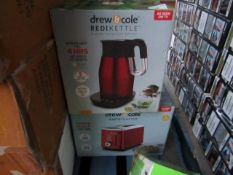 | 1X | DREW AND COLE REDI KETTLE WITH DREW AND COLE RAPID 2 SLICE TOASTER | REFURBISHED AND