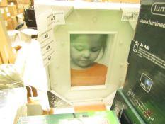 White LED Photo Frame 10x15cm - New & Packaged.