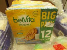 Belvita - Big Pack 12 Portions - bb - 31/05/21 - Sealed.