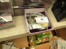 2x Santoro London Gorjuss - Compact Mirror with Keepsake Bag - New & Packaged.