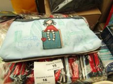 Santoro London Gorjuss - Double Zip Pencil Case - New with Original Tags. RRP £15.00 Each.