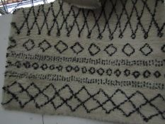 | 1X | MADE.COM FREDA SMALL RUG 120X170CM | UNCHECKED MAY HAVE SLIGHT DIRTY MARKS |