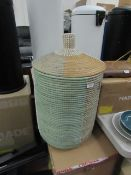 | 1X | MADE.COM HAVANNA SEAGRASS LAUNDRY BASKET | UNCHECKED AND BOXED | RRP £79 |