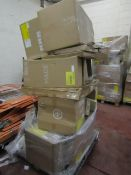 | 1X | PALLET OF MADE.COM RAW CUSTOMER RETURNS, THE PALLET IS OVER 6FT TALL, THE PALLET CAN
