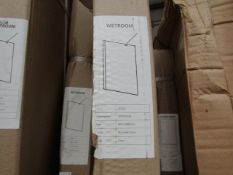 Wetroom 900 x 2000mm deflector, new and boxed. SD062