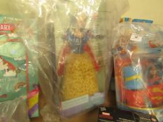 Princess Snow White Doll. New but packaging is slightly damaged