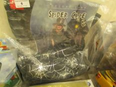 Spidercape & Hat. Packaged