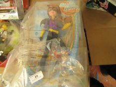 Superhero Girls Batgirl figure. Packaging Damaged but has been rebagged