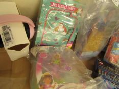 2 Items Being a Dora & Friends Figure & a Girlzone Secret Diary. Packaging damaged but products