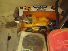2 Items Being a Truck Toy & a UFO Interactive Aircraft. Packaging is damaged but products are fine