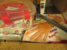 2 Items Being a DIY Jewellery Making set & a wrist Band set.