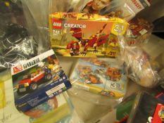 4 Items all Being lego Sets. See Image