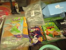 4 Items Being 2 Slime Sets, 6 x Kids Safety Glasses & Make you=r own slime set
