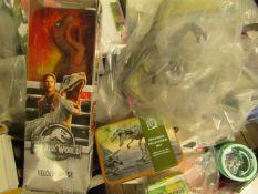 4 Items Being 3 Dinosaur Figures & a Dinosaur Excavation Set. All unused
