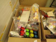 Box of Approx 30 Various Toys Etc.