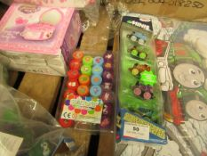 2 Items Being 26 Fun Stamps (unused) & a set of 5 Thomas & Friends Glow in the Dark figures.