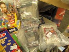 4 Items Being 2 x Yu Gi Oh Sets,Magic Sorin Cards & Ashes Expansion Pack. Packaging is damaged ao