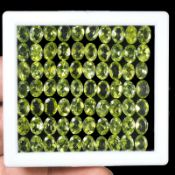 Natural Peridot - 52.40 carats - 70 pieces - average retail value £25,920.81