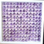 Natural Amethyst - 111.40 carats - 144 pieces - average retail value £9,618.03