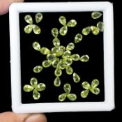 Natural Peridot - 20.15 Carats - 43 pieces - average retail value £1,031.67