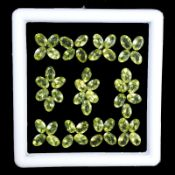 Natural Peridot - 25.00 carats - 54 pieces - Average retail value £6,492.85