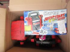 1x CL JUMPSTART JS1010 9270, 1x CL JUMPSTART JS1000 9270, 1x CL JUMPSTART JS12/24 9270, This lot