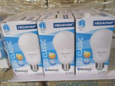 500pcs Brand New Megaman LED Bulbs - Variety of fittings picked from stock at random - pictures