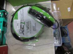 Turtle Beach XC1 Gaming head set, looks unused in packaging