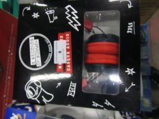 5 Seconds of Summer headphones, boxed and unchecked but looks to be still sealed