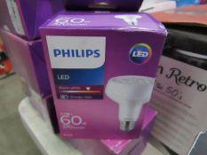 1x Phillips E27 LED Bulb, New, RROP £10.82