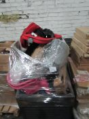 A Pallet approx 4ft high full of Various household items which are either out of packaging, missing