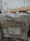 Pallet of approx 60000 gummed envelopes 116x140, unused and boxed