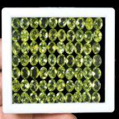 Natural Peridot - 52.40 carats - 70 pieces - average retail value £25,920.81