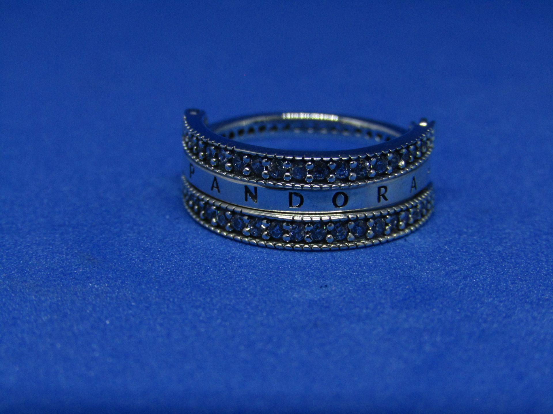 Pandora Flip Ring size 54, new with presentation bag