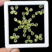 Natural Peridot - 20.15 Carats - 43 pieces - average retail value £1,031.67
