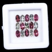 Natural Tourmaline - 3.40 carats - 15 pieces - average retail value £ 386.83