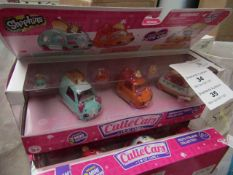 2x Shopkins - Cutie Cars (Breakfast Beep Collection) - All Packaged.