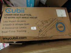 | 1X | CUBII JR SEATED ELLIPTICAL TRAINER | UNCHECKED AND BOXED | NO ONLINE RE-SALE | SKU