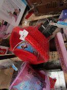 3x Various Toy Items Being: 1x Pirate Sand Bucket & WheelBarrow - Unused & Packaged. 1x Disney -