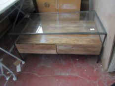 | 1x | SWOON MACKAY COFFEE TABLE | MAY HAVE SMALL MARKS OR IMPERFECTIONS | RRP £449 |